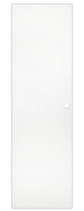 1. 24 x 78 Flush White Interior Door