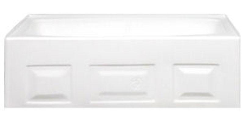 1. ABS Standard Gauge Mobile Home Bathtub