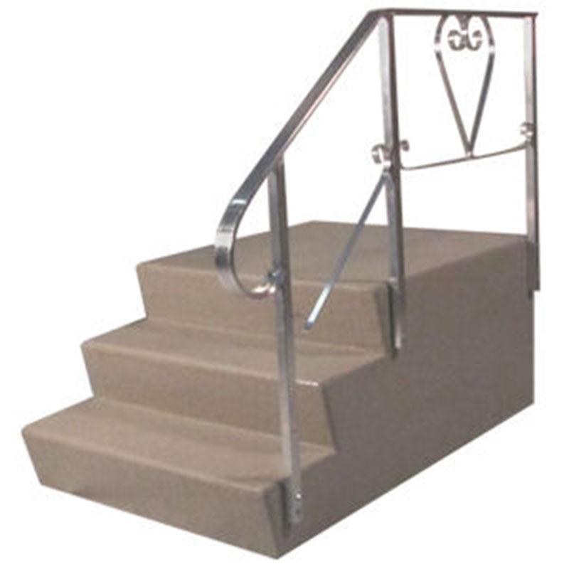 1. Dura Grip 24 x 24 X 36 Fiberglass 3 Steps foe Mobile Home