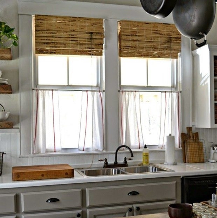 country-style-kitchen-bamboo-curtains