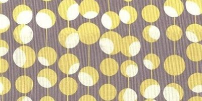 amy butler fabric in mustard yellow dots