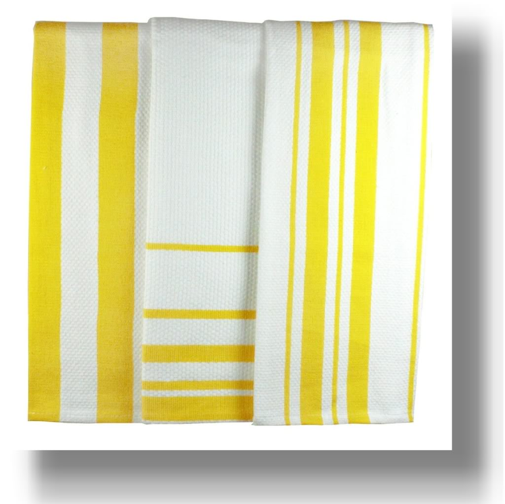 lemon-striped-dish-towel