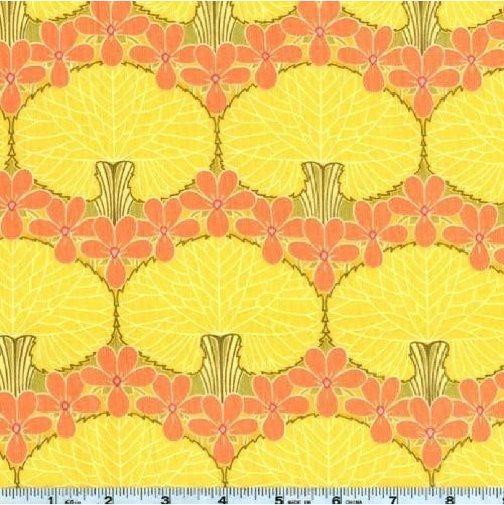 yellow-and-orange-fabric