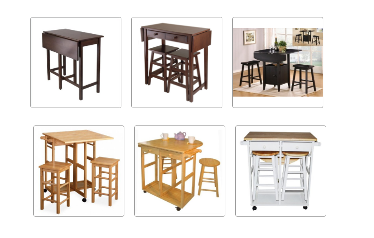 drop leaf folding tables