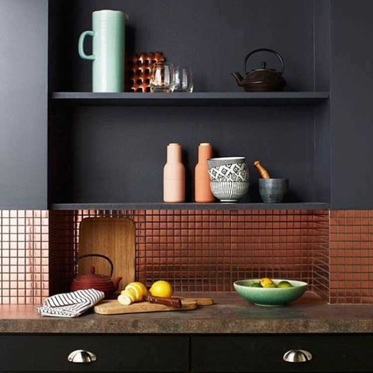 copper-tiles-for-kitchen-backsplash