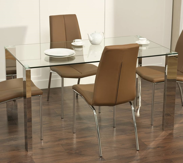 Dining Tables Com: Modern Glass Dining Table