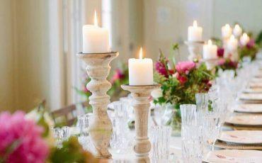 elegant dining room table centerpieces ideas 1