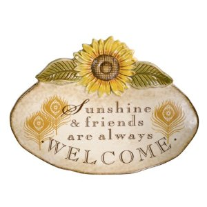 sunflower-wall-plaque