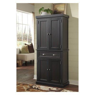black-pantry-cabinet