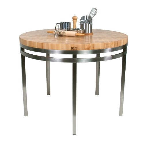 designer-round-kitchen-island-in-cherry