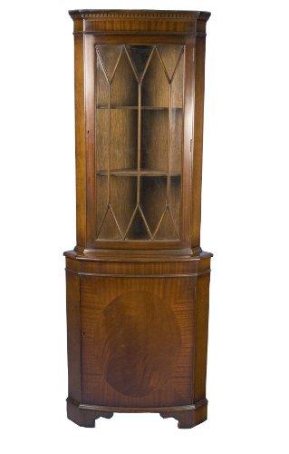 mahogany-corner-cabinet