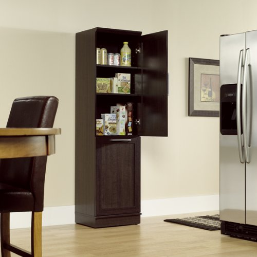 narrow-storage-cabinet-with-recycle-bin