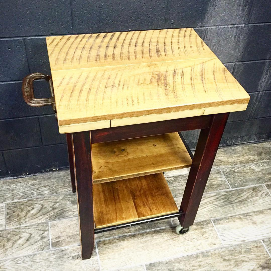 wooden-butcher-block-kitchen-carts