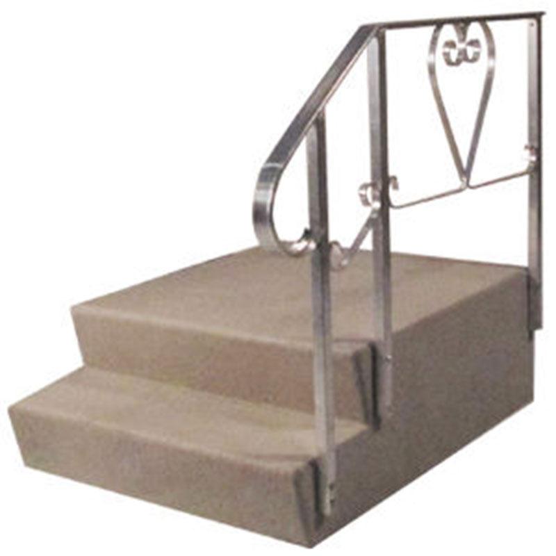 4. Dura Grip 16 x 38 X 48 Fiberglass 2 Steps for Mobile Home