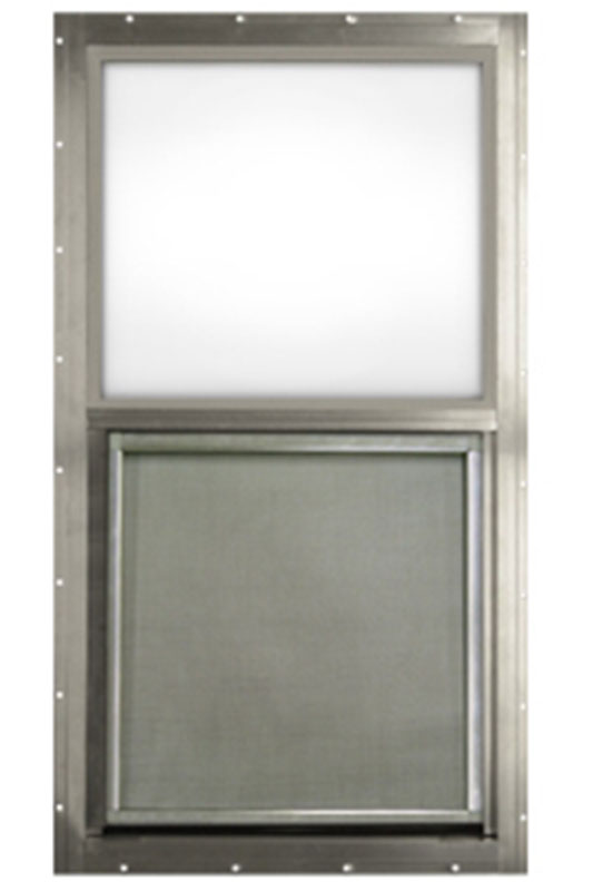 4. Kinro 30 x 40 Aluminum Vertical Sliding Window for Mobile Home