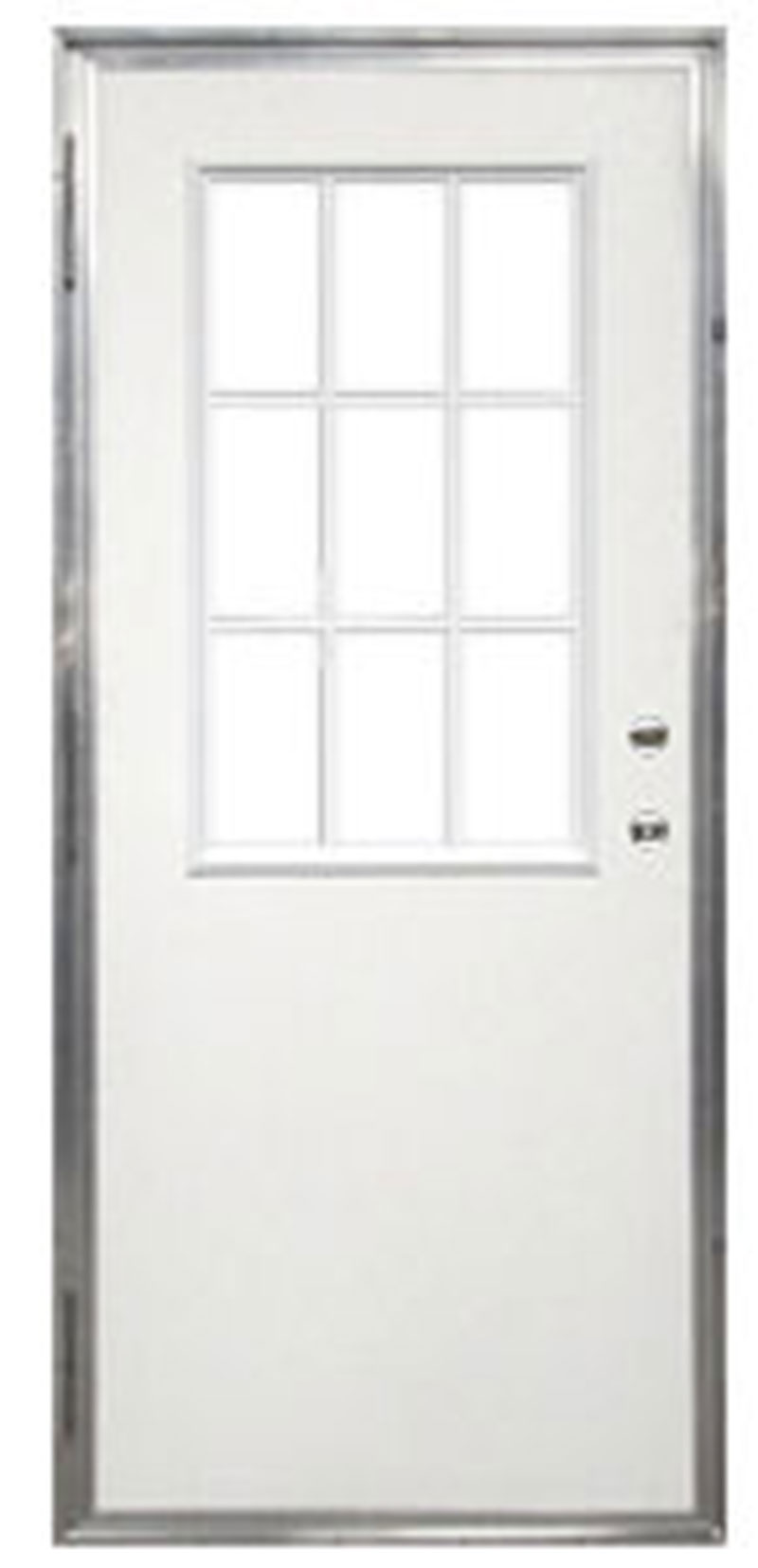4. Out Swing Mobile Home Exterior Door With 9 Lite Window