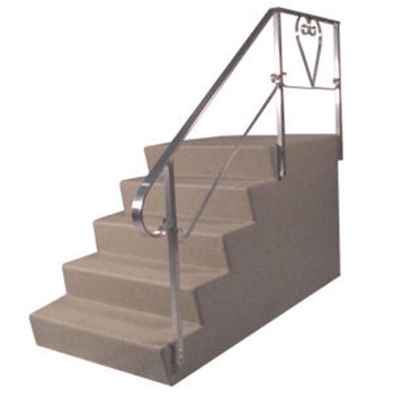 5. Dura Grip 40 x 24 X 36 Fiberglass 5 Steps For Mobile Home