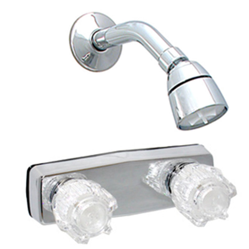 5. Empire Ultra 4 Chrome Shower Faucet for Mobile Home