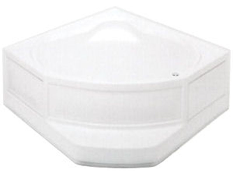 5. Heavy Gauge ABS Corner Tub for Mobile Home