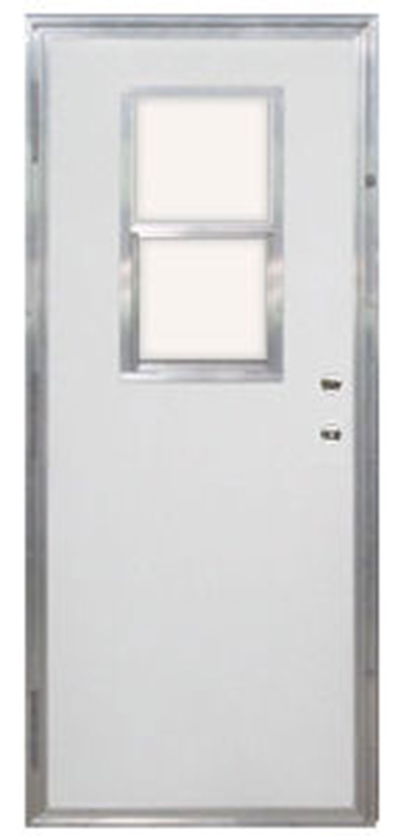 5. Out Swing Mobile Home Exterior Door With Vertical Sliding Window