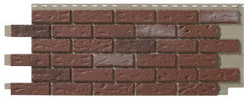 7. Novik Old Red Brick Skirting Panel