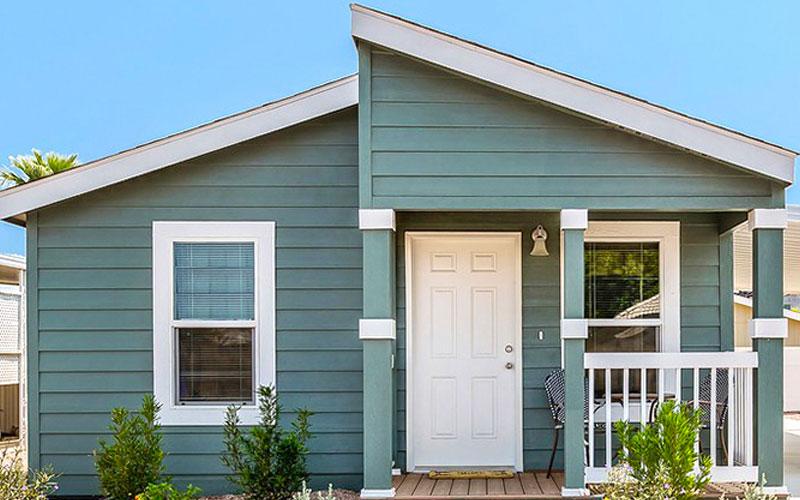Mobile Home Exterior Door